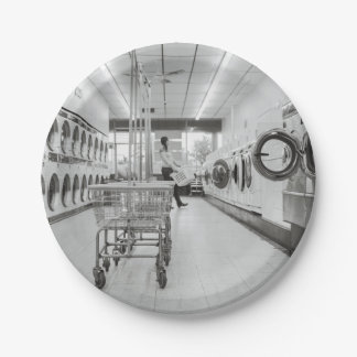 laundry 7 inch paper plate