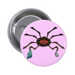 Laundry Spider Pinback Buttons