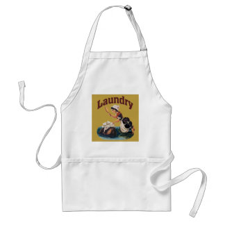 Laundy Room Sign Adult Apron