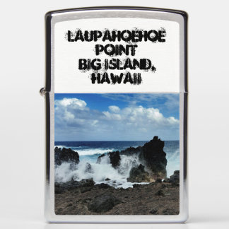 Laupahoehoe Point Zippo Lighter