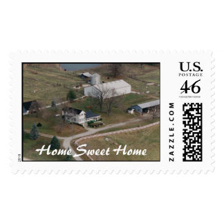 Laura and Arlie Helmich Farm and House Stamps