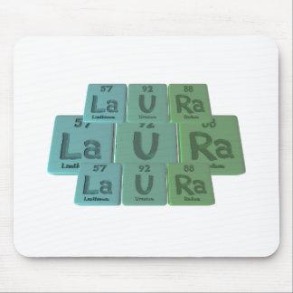 Laura  as Lanthanum Uranium Radium Mouse Pad
