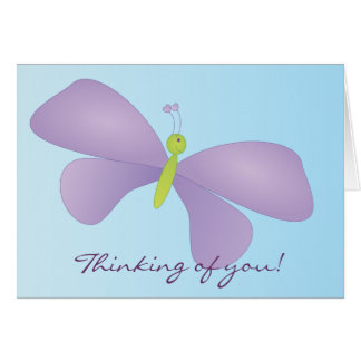Laura Butterfly Card