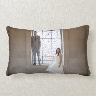 Laura + Eric's Wedding Lumbar Pillow