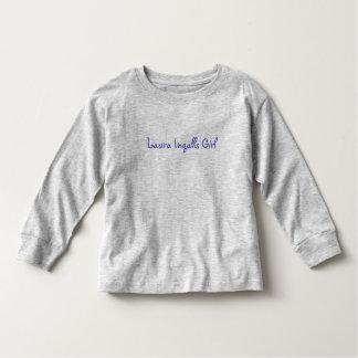 Laura Ingalls Girl Toddler T-shirt