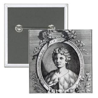 Laura Maria Caterina Bassi Pinback Button