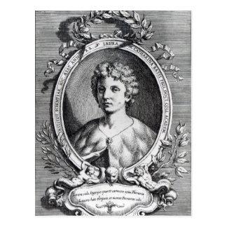 Laura Maria Caterina Bassi Postcard