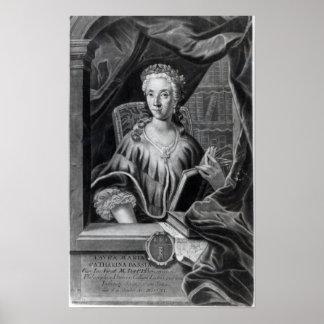 Laura Maria Caterina Bassi Poster