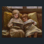 "Laura Muntz Lyall - Interesting Story Photo Print<br><div class=""desc"">Interesting Story by Laura Muntz Lyall,  1898. Oil on canvas.</div>"
