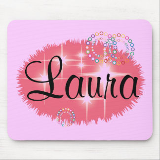 Laura personalized mouse pad
