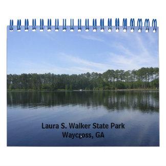 """""""LAURA S. WALKER STATE PARK"""" CALENDAR"""