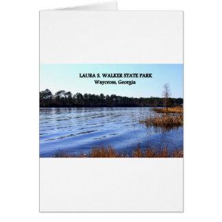 LAURA S. WALKER STATE PARK - Waycross, Georgia Card