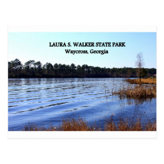 LAURA S. WALKER STATE PARK - Waycross, Georgia Postcard