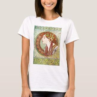 Laurel - Alphonse Mucha T-Shirt