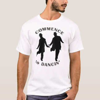 Laurel and Hardy - Commence to Dancin' T-Shirt