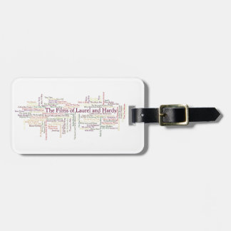 Laurel and Hardy Themed Item Luggage Tag
