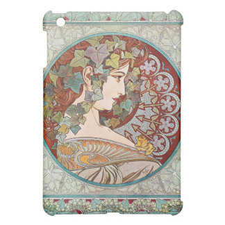 Laurel, Art Nouveau Illustration by Alphonse Mucha Cover For The iPad Mini