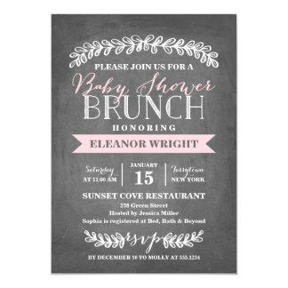 Laurel Brunch   Baby Shower Invitation