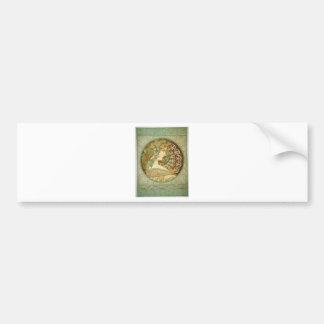 Laurel by Alphonse Mucha Bumper Sticker