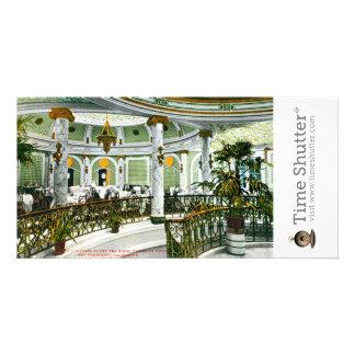 Laurel Court Tea Room Photo Card Template