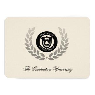 Laurel Crest Traditional College Graduation Card