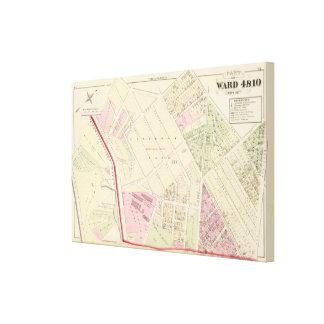 Laurel Dale Chemical Works Atlas Map Canvas Print