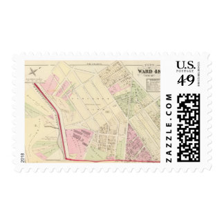 Laurel Dale Chemical Works Atlas Map Postage