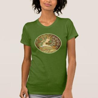 Laurel de Alfonso Mucha Camisetas