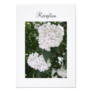 Laurel de montaña blanco del boda de la invitación