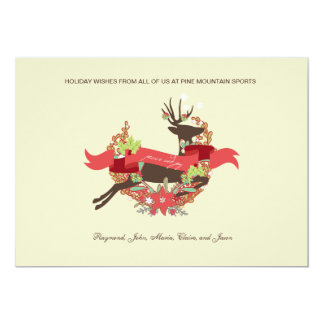 Laurel Deer Peace and Joy Corporate Card