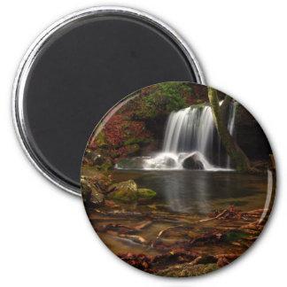 Laurel Falls 2 Inch Round Magnet