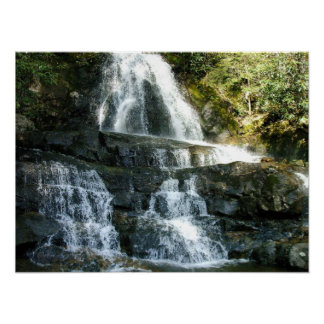 LAUREL FALLS PIGEON FORGE TENNESSEE POSTER
