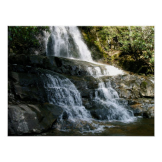 LAUREL FALLS PIGEON FORGE TENNESSEE POSTERS