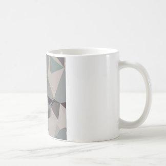 Laurel Green Abstract Low Polygon Background Coffee Mug