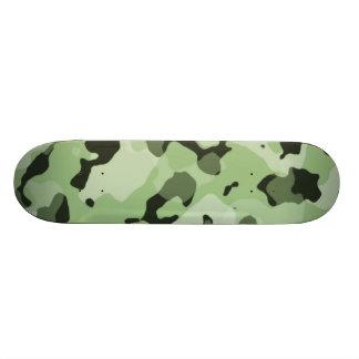 Laurel Green Camo; Camouflage Skate Board