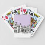 Laurel Hall building wedding venue Playing Cards