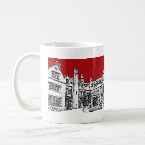Laurel Hall red venue Coffee Mug