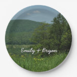 Laurel Highlands Pennsylvania Summer Photography Paper Plate