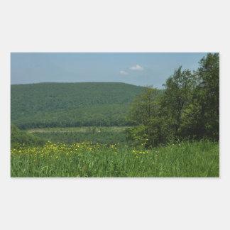 Laurel Highlands Pennsylvania Summer Photography Rectangular Sticker