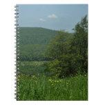 Laurel Highlands Pennsylvania Summer Photography Spiral Notebook