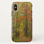 Laurel Hill Trail in Fall iPhone X Case