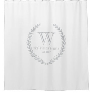 Wonderful Monogram Shower Curtains | Zazzle EB94