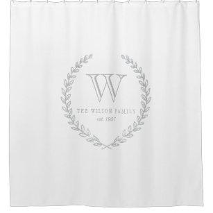 New Monogram Shower Curtains | Zazzle DP54