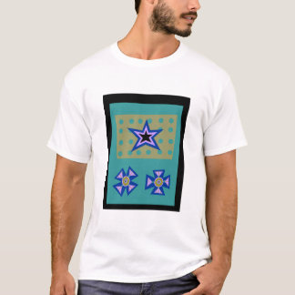 Laurel Star on Blue T-Shirt