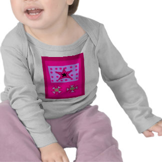 Laurel Star on Pink Shirts