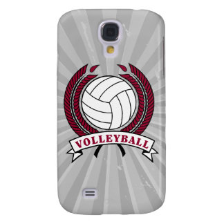 laurel volleyball emblem design samsung galaxy s4 cover