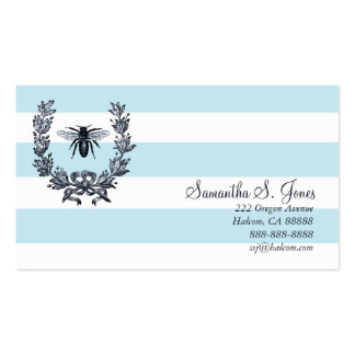Laurel Wreath and Napoleonic Bee Calling Card