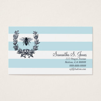 Laurel Wreath and Napoleonic Bee Calling Card