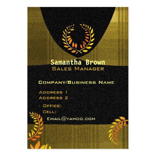 Laurel Wreath Attorney Business Card