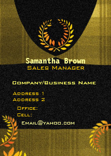Paralegal business cards templates zazzle laurel wreath attorney paralegal business cards colourmoves